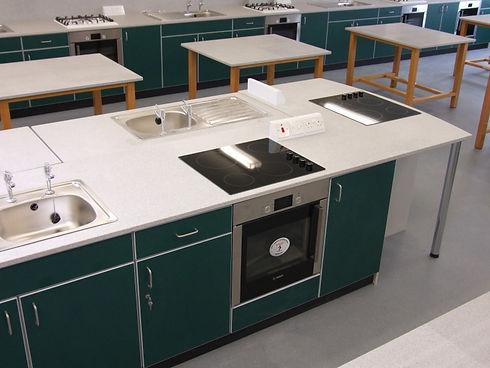 School refurbishment - School food technology & design technology