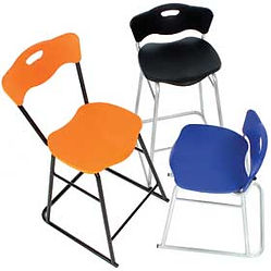 Low Back and High Back CARE Stools