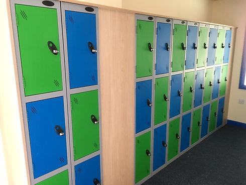 School refurbishment - Cloaks & lockers