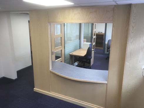 Commercial fit-out - Offices & receptions