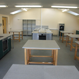 School refurbishment - Food technology & design technology