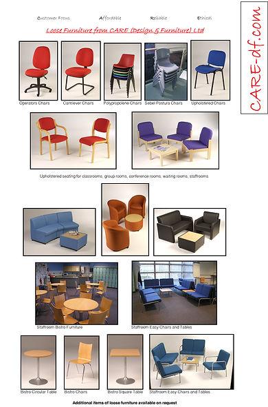 care (design & furniture) ltd loose furniture