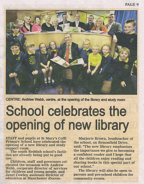 CARE Design in the news - St. Mary's Lib