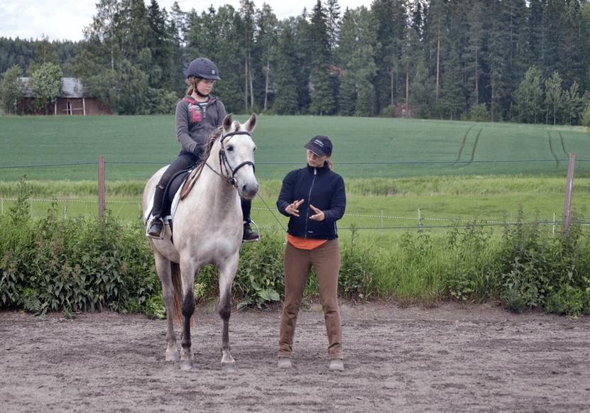 Klassinen ratsastustunti