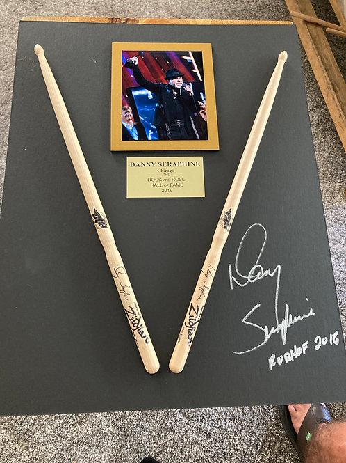 16x20 Custom Shadow Box with NEW Drum Sticks