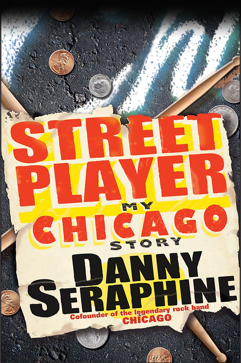 Paperback copy of Street Player: My Chicago Story