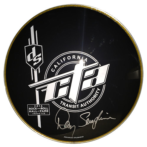 Autographed DS Logo Drumhead