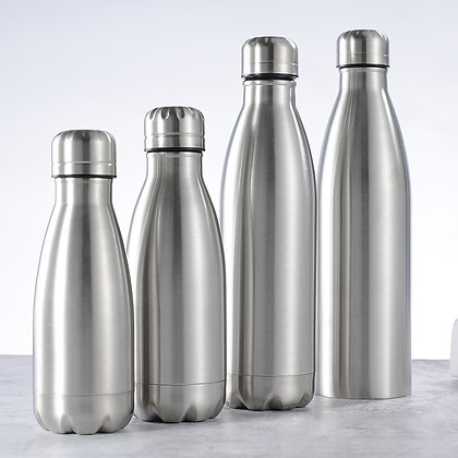 Insulated Vacuum Water Bottle [Stainless Steel]
