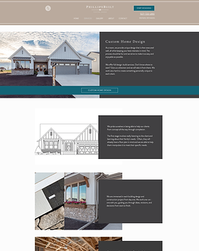 Phillips Built Homes Home Design page.pn