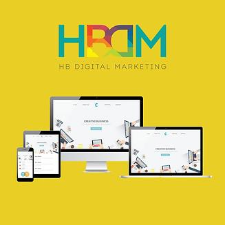 HB Digital Marketing Mobile Responsive W