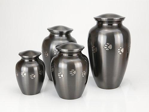 Brass Pawprint Vase Urn