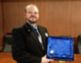 Rep. Jeff Brand receives Minnesota Feder