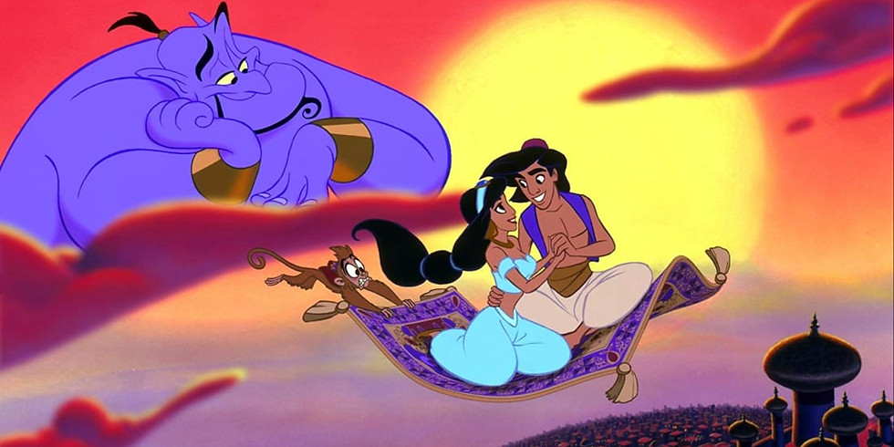 Aladdin Workshop with Paige and Caz