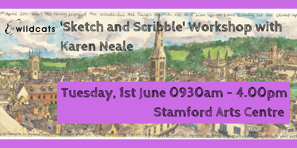 Sketch and Scribble with Karen Neale
