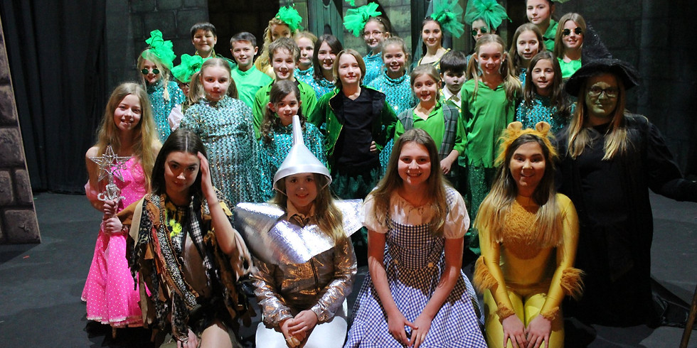 Wizard of Oz 4 day Easter School