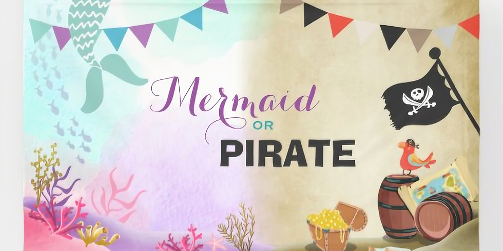 Pirates and Mermaids Party