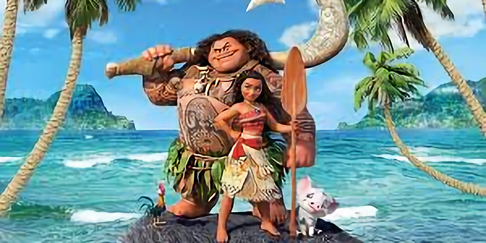 Moana Musical Madness with Caitlin