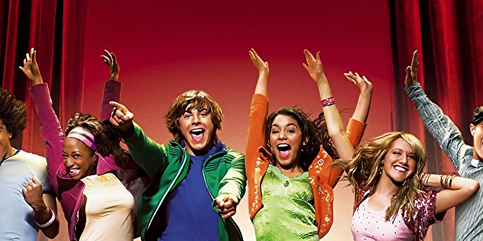 High School Musical with Sophie and the team