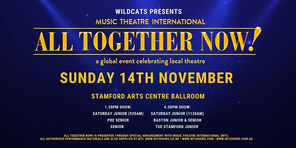 All Together Now (Junior, Pre Senior & Senior Student Show)