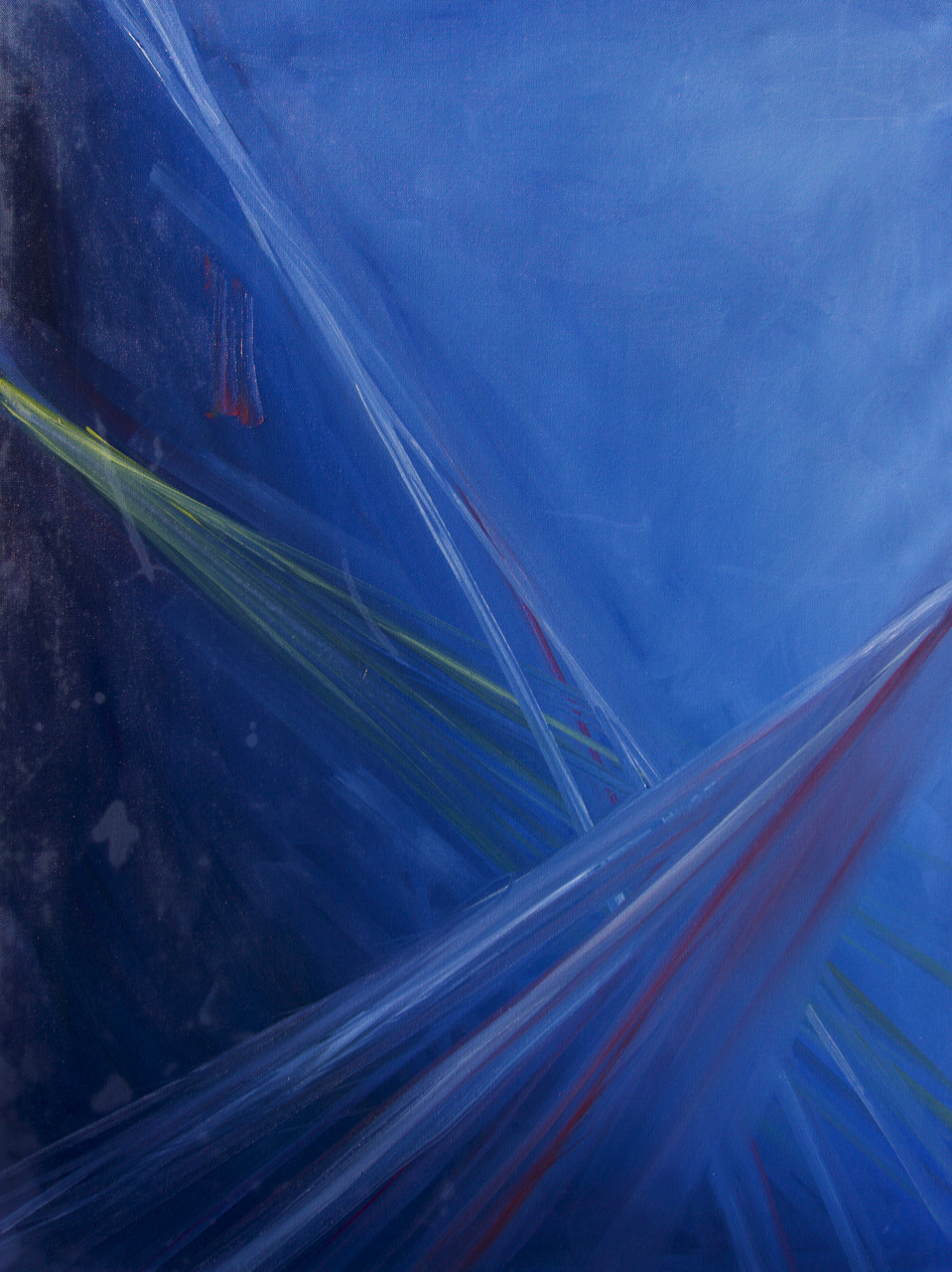 blue ambience, 30x40inches, oil on canvas, 2020