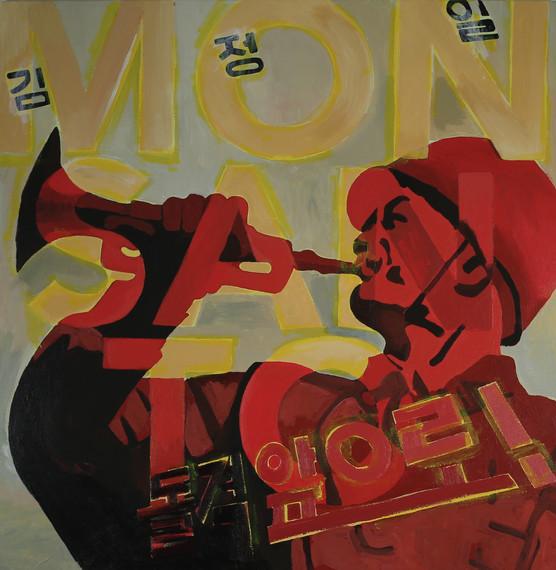 MONSANTO, 30x30 inches, acrylic on canvas  2014