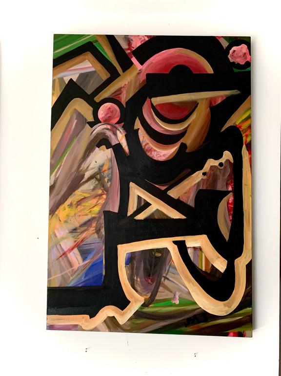 "Smile Master, 2021. oil on canvas, 27x40"" .jpg"