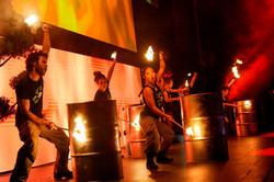 Fire drumming 2