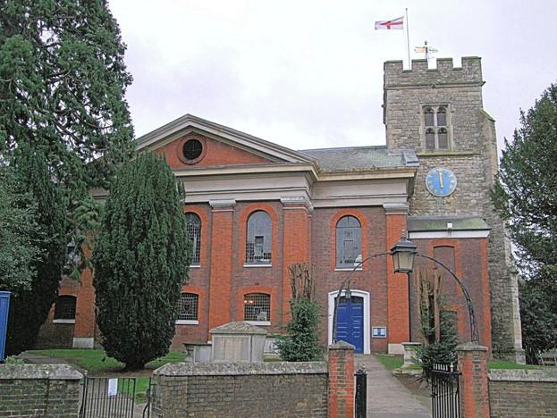 St_Mary's_Church,_Twickenham_-_London._(