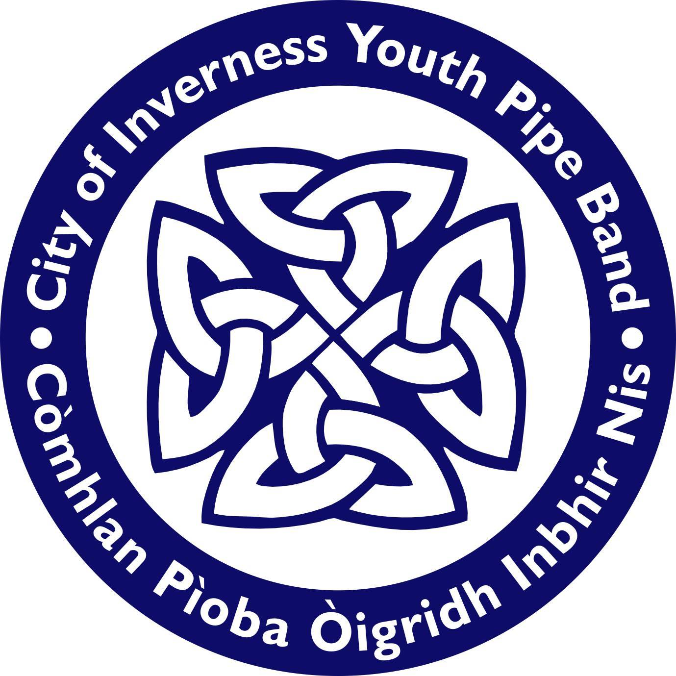 City of Inverness Youth Pipe Band Logo