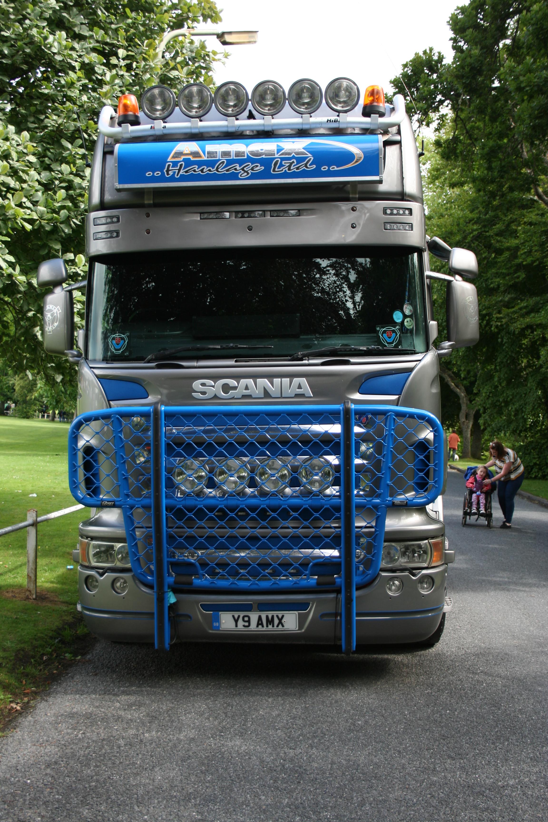 Amax Haulage Scania