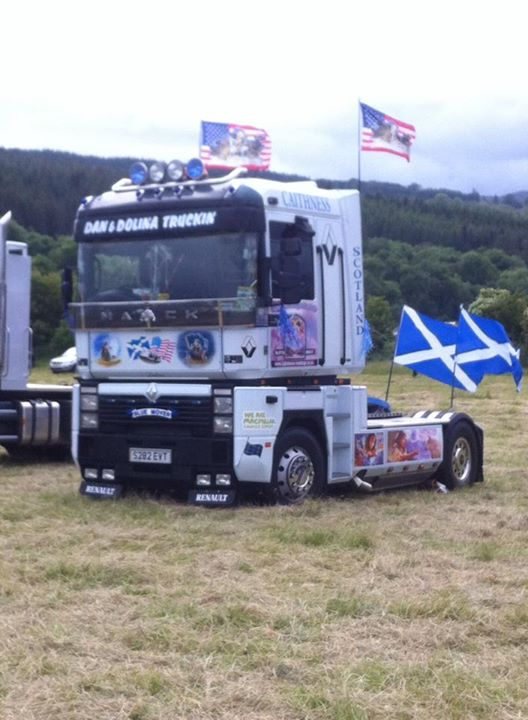 At trucknessie today