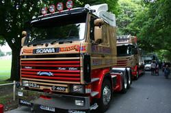 Ian Rogers Scania 143