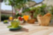 hotel cognac centre avec terrasse