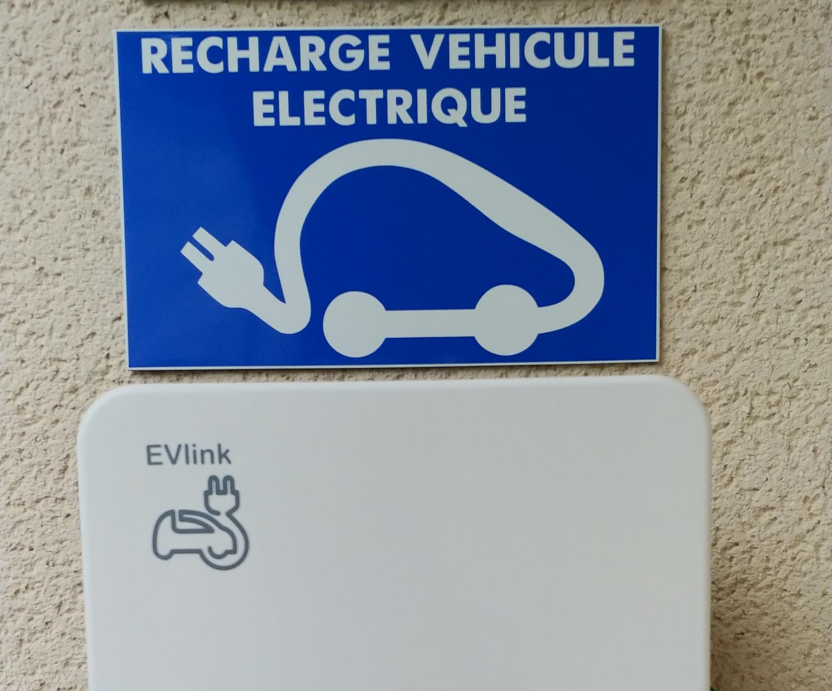 Borne recharge VE
