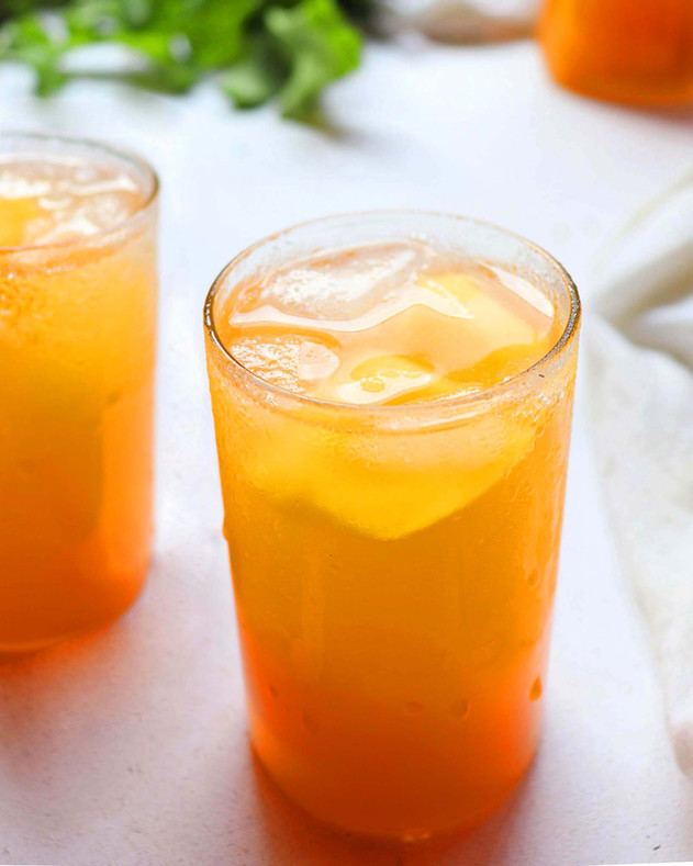 Orange Iced Tea - Shradha Rawat Photography