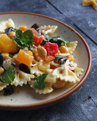Fruit And Nut Pasta Salad