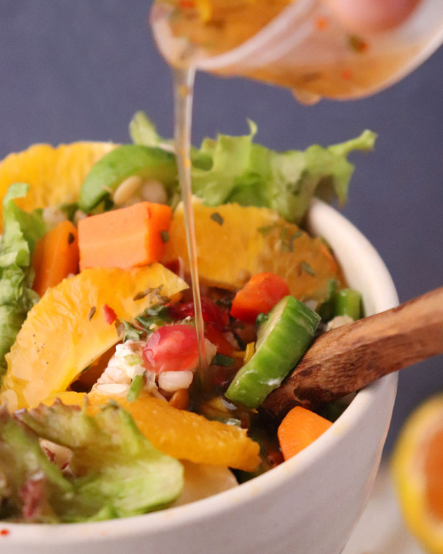 Citrus Salad Dressing - Shradha Rawat Photography
