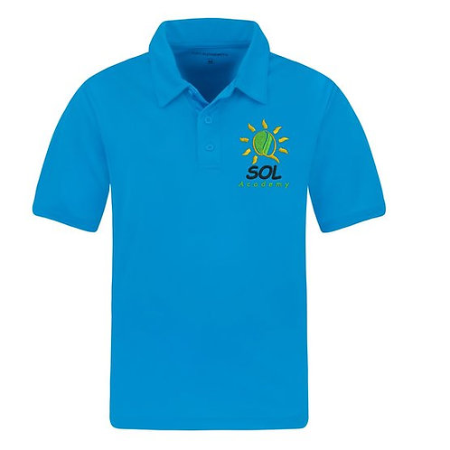 Seeds of Life Youth Performance Silk Touch Polo