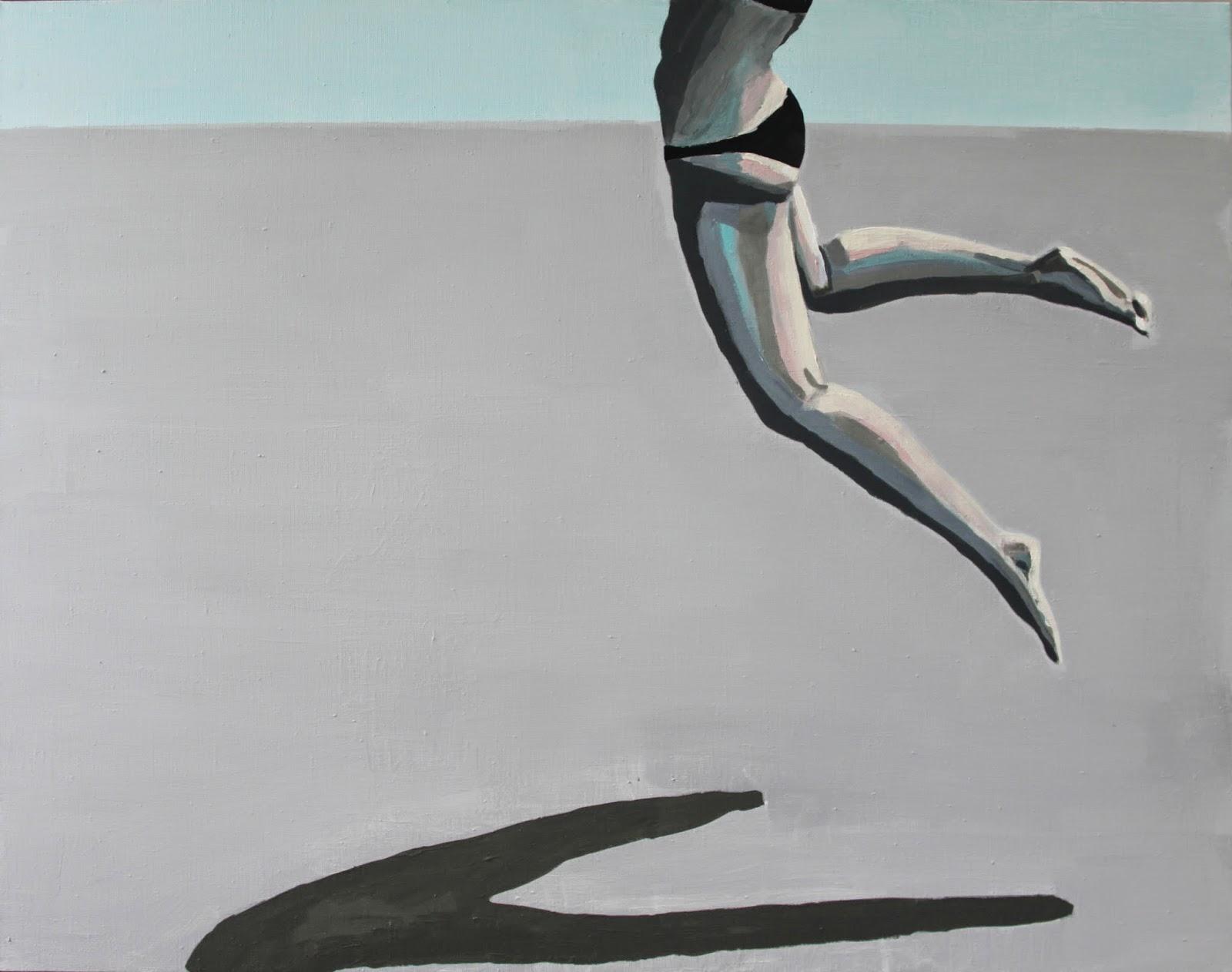 Plaża VII, 90/70, akryl, 2011