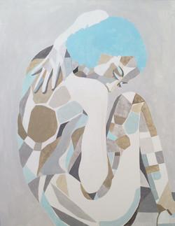 Wenus, 90/70, akryl, 2016