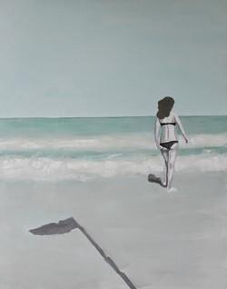 Plaża II, 90/70, akryl, 2011