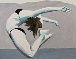 Dzikość serca II, 90/70, akryl, 2015