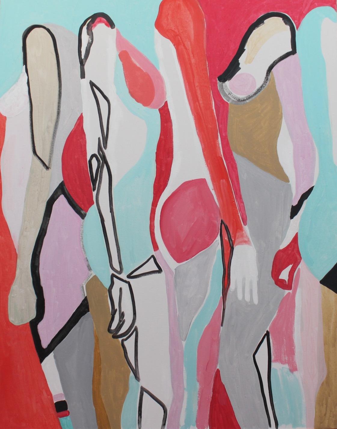la dolce vita, 90x70, akryl, 20147