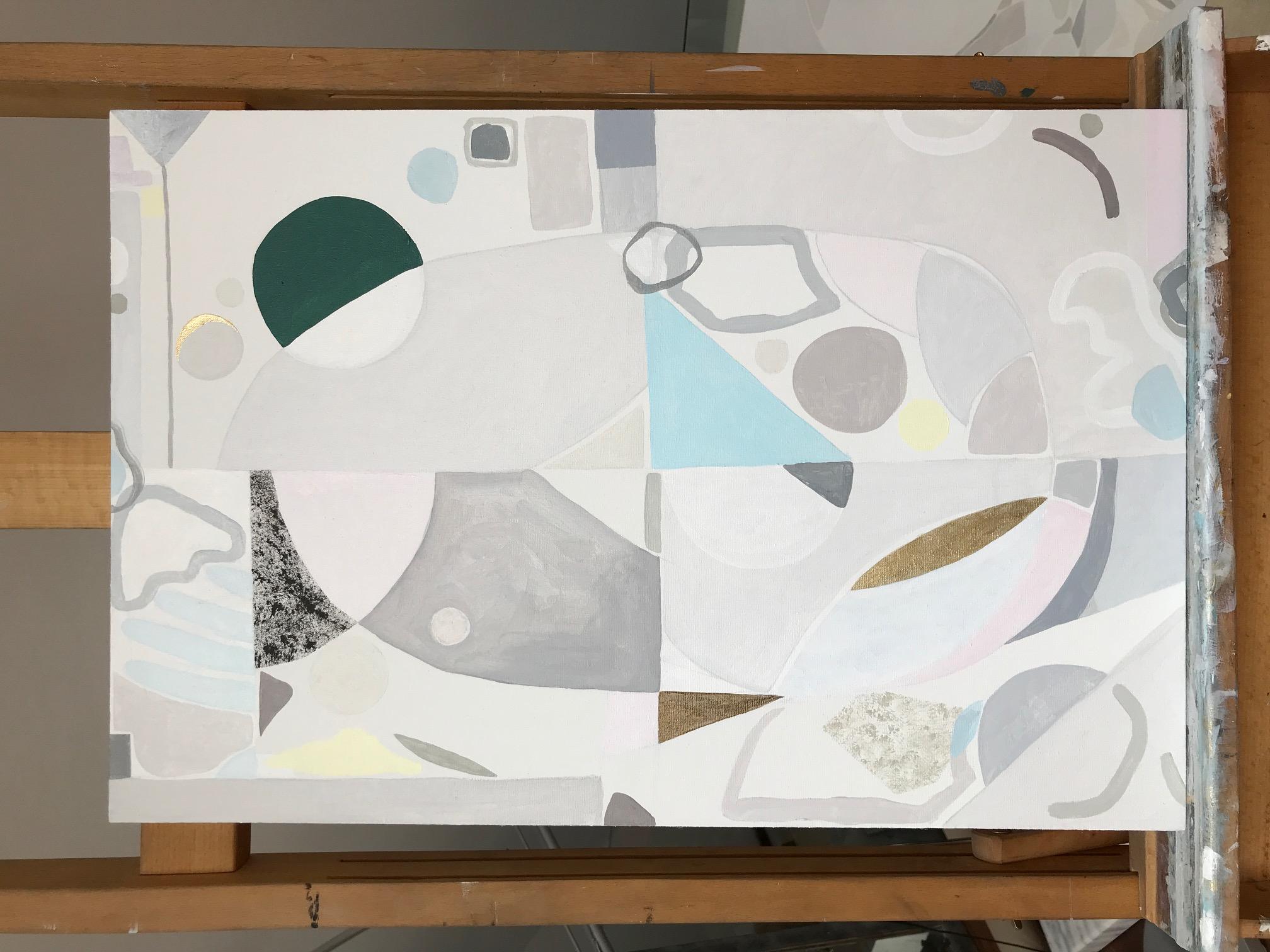 Kobieca geometria V, 60/40cm, 2018