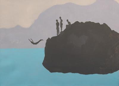 nauka latania, 120/100, akryl, 2014