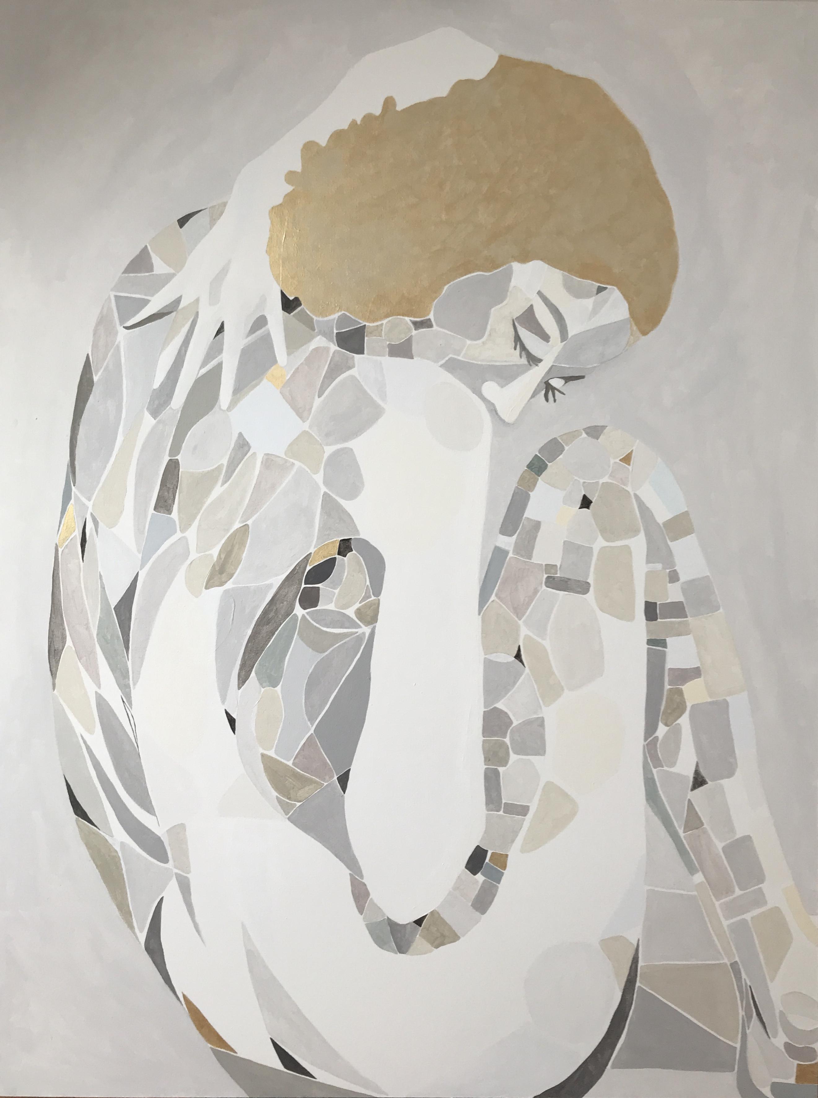 Wenus II, 120/90cm, akryl