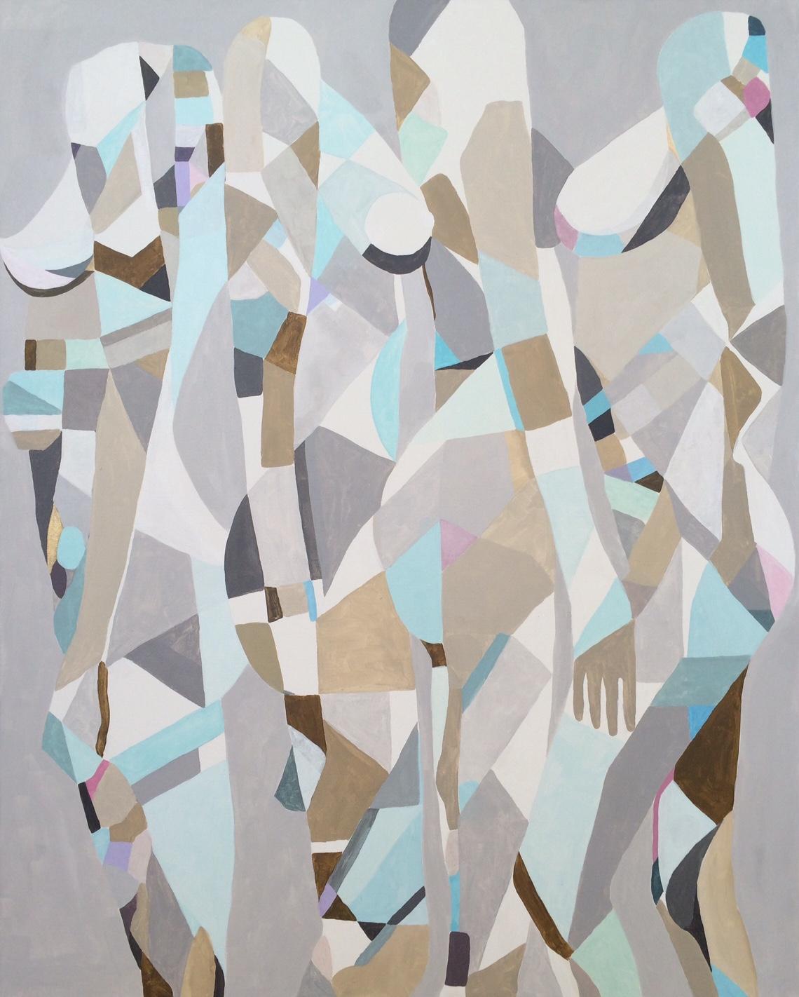 Kobiety VIII, 100/80, akryl,2016