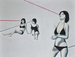 Lasery, 100/80, akryl, 2012