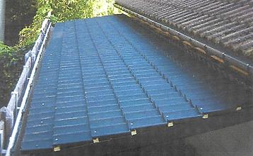Afdak langs bestaand dak