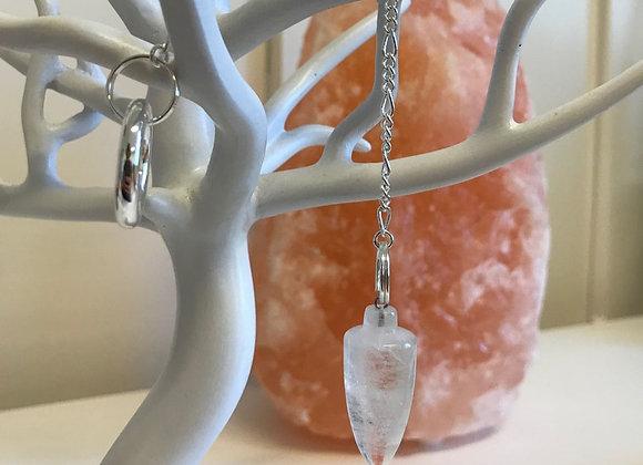 Druidenpendel Bergkristall